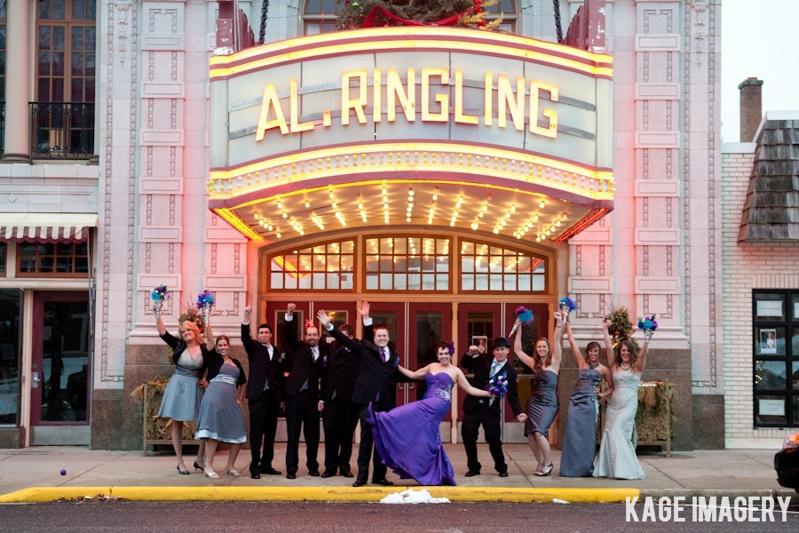 Al Ringling Theater Wedding Photos