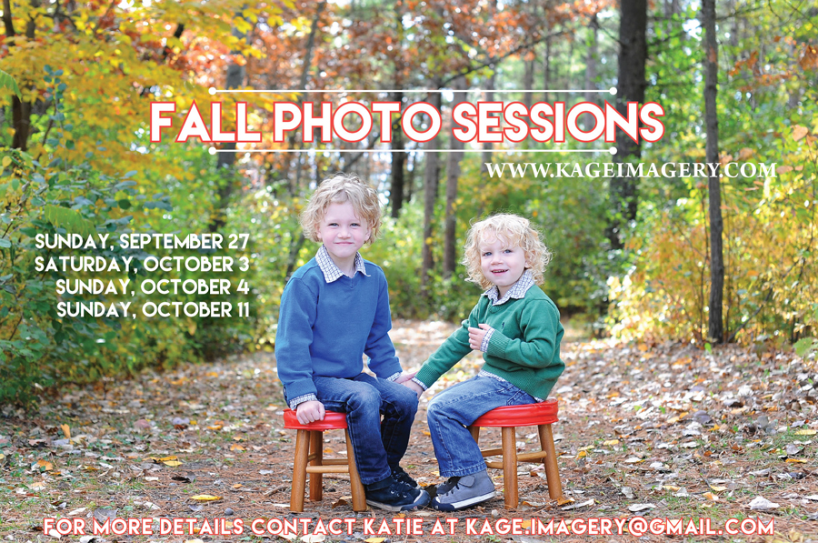 Fall Photo sessions in the Twin Cities