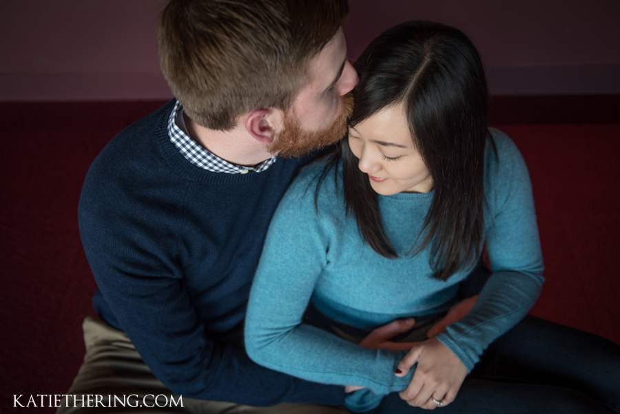 Guthrie Theater Engagement Photos | Tina & Andrew