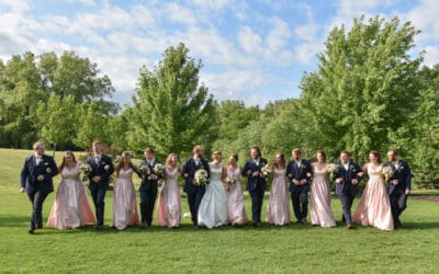 Vadnais Heights Commons Wedding | Anna & Andrew